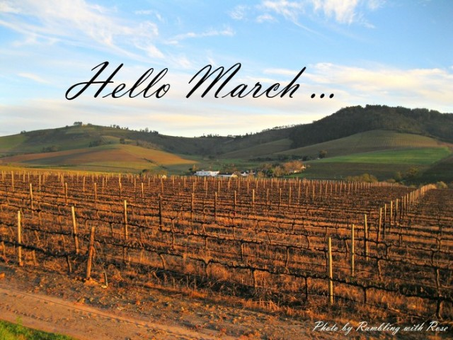 Hello March (C) Rambling with Rose