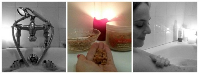 Skin Clays Body Scrub (C) Rambling with Rose
